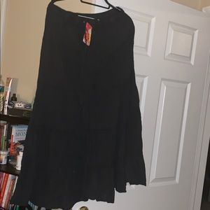 Brand new boho cotton skirt with tags